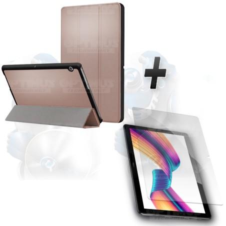 Kit Vidrio Templado y Estuche Case Protector Acrílico y Sintético Tablet Huawei T3-10