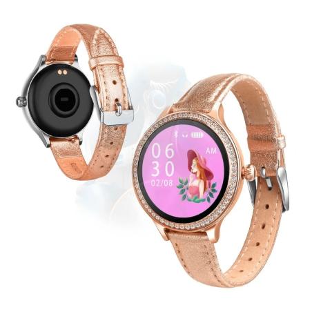 Smartwatch Reloj Inteligente OPTIMUS BAND XS WOMAN™ Mide Ritmo Cardíaco Control Menstrual