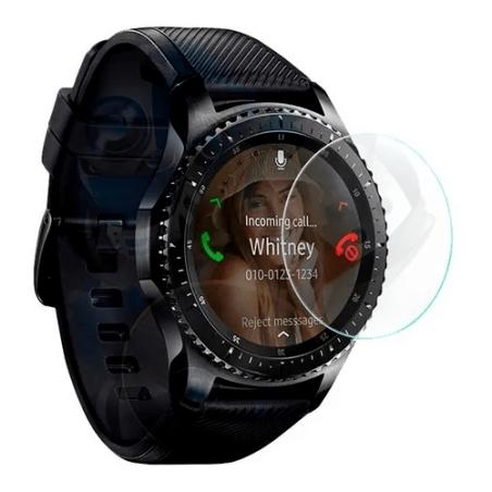Vidrio Templado Protector para Reloj Inteligente Smartwatch Samsung Gear S3 Frontier