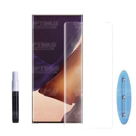 Vidrio templado Protector UV Dispersión Liquida para Samsung Galaxy Note 20 Ultra