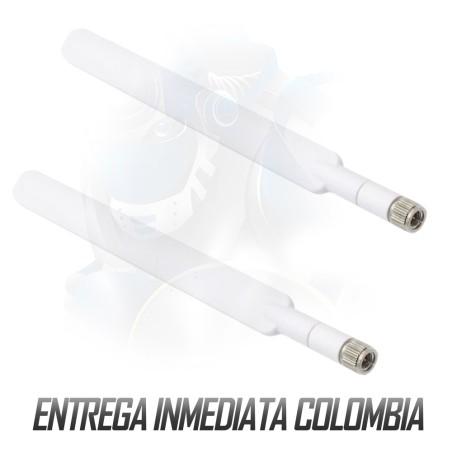 2 Antenas 4g Modem Enrutador Huawei B310 Entrada Sma múltiples marcas ZTE Cisco etc