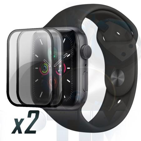 Screen Vidrio Protector Reloj Iwatch Serie 5 40mm X2 Unidades
