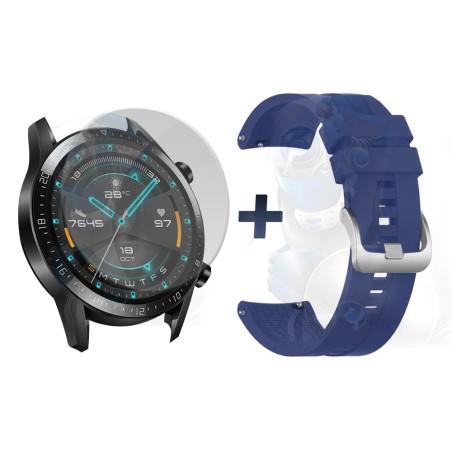 Vidrio Templado Y Correa Smartwatch Reloj Inteligente Huawei Gt 2 46mm