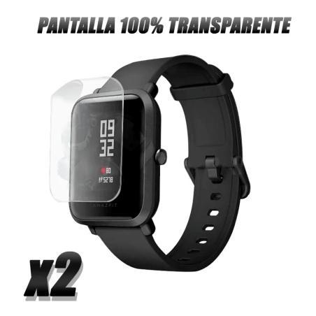Screen Protector Amarillo Reloj Smartwatch Xiaomi Amazfit Bit X2 Unidades