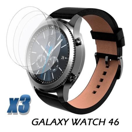 Vidrio Templado Reloj Samsung Galaxy Watch 46mm X3 Unidades