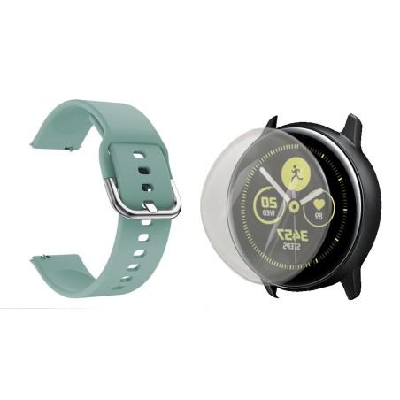 Kit Correa Pulso Y Buff Screen Para Reloj Samsung Galaxy Active 40mm