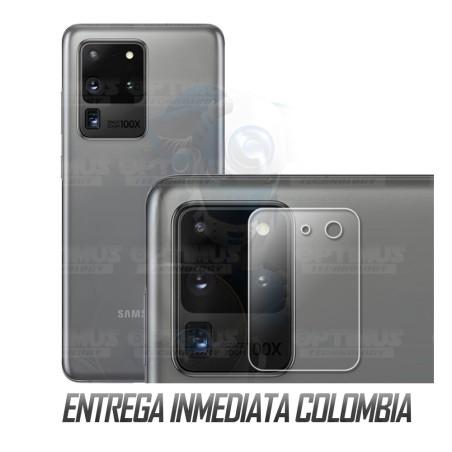 Vidrio Protector Templado Cerámico para Cámara de Samsung S20 Ultra