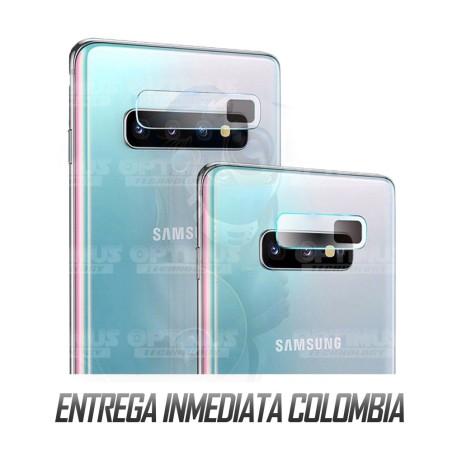 Vidrio Protector Templado Cerámico de Cámara Celular Samsung S10