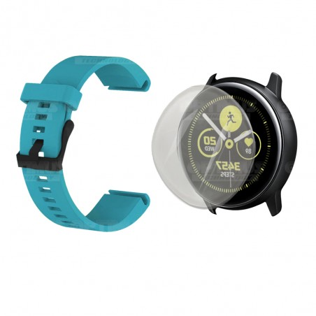 Kit Correa Manilla Banda Y Buff Screen Para Reloj Samsung Galaxy Active 40mm