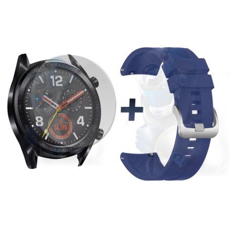 Vidrio Templado Y Correa Smartwatch Reloj Inteligente Huawei Gt 46mm