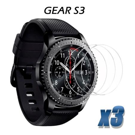 Vidrio Templado Reloj Inteligente Samsung Gear S3 X3 Unidades