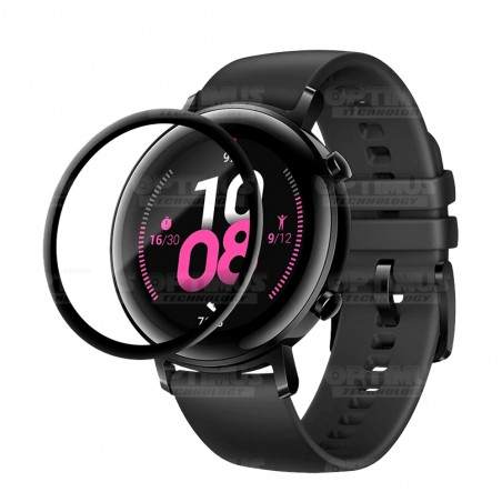 Vidrio Templado Cerámico Nanoglass Para Reloj Smartwatch Huawei Gt2 42mm