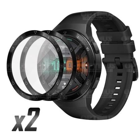 Vidrio Templado Protector Cerámico Para Reloj Smartwatch Huawei Gt2e x2 Unidades