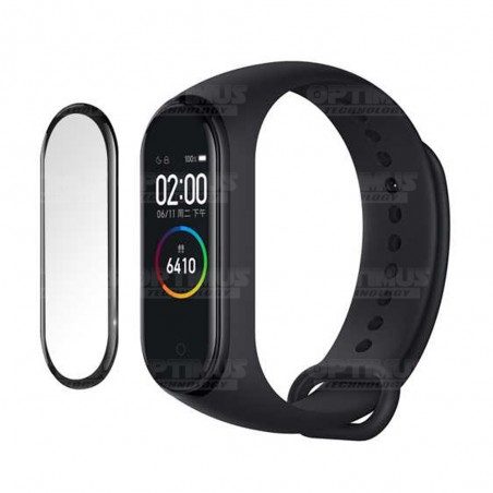 Vidrio Templado Protector Cerámico Para Reloj Smartwatch Xiaomi Mi Band 4