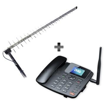 Kit Rural Antena...