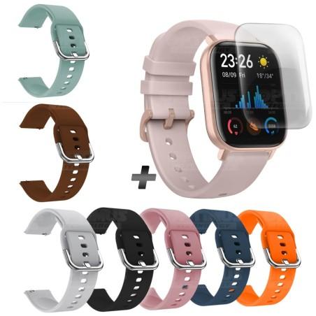 Kit Reloj Inteligente Xiaomi Amazfit Gts + Correa Pulso Adicional + Buff Screen Protector