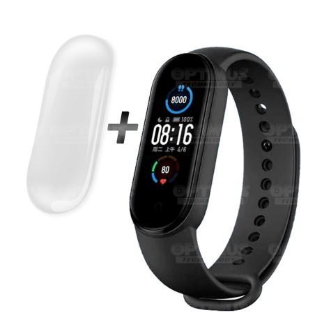 KIT Reloj Inteligente Smartwatch Xiaomi Mi Smart Band 5 y Buff Screen Protector